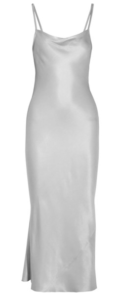 Joseph Washed-Silk Maxi Slip Dress