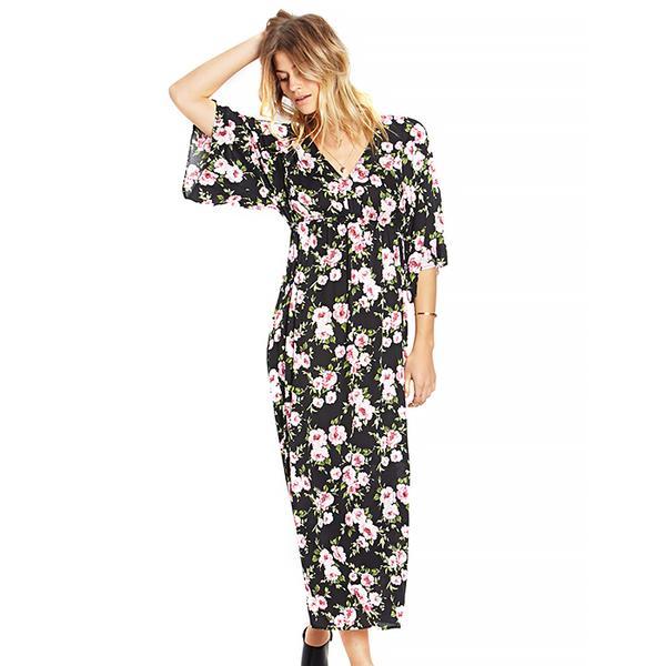 Forever 21 Goddess Floral Maxi Dress