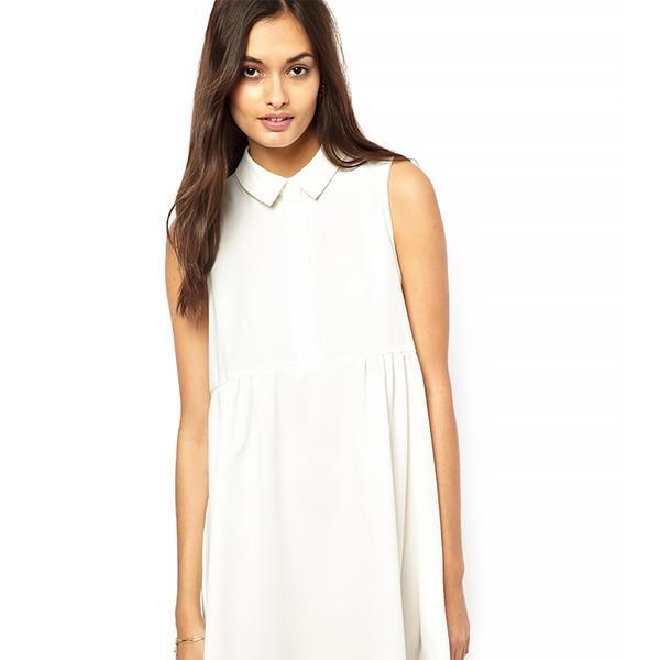 Glamorous Swing Shirt Dress with Empire Seam