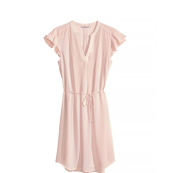 H&M Dress with Butterfly Sleeves