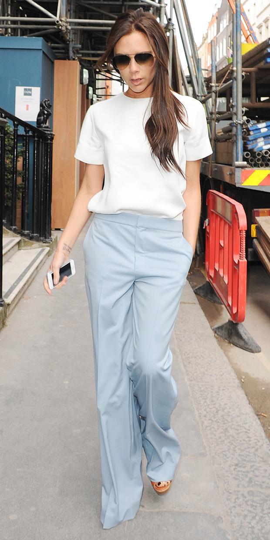 Victoria Beckham's Simply Chic Separates