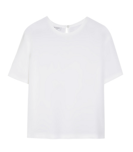 Equipment Logan Washed-Silk Top