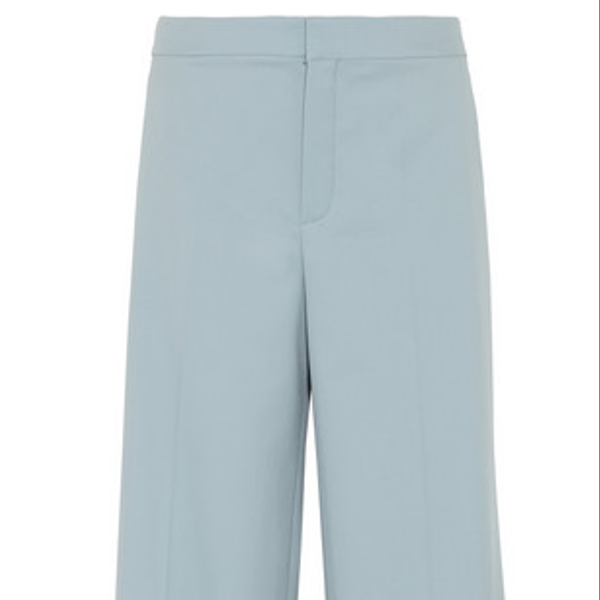 Chloe Wool Wide Leg Pants