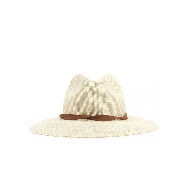 Urban Outfitters Twist-Band Nubby Panama Hat