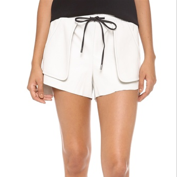 Bec & Bridge Babylon Leather Shorts