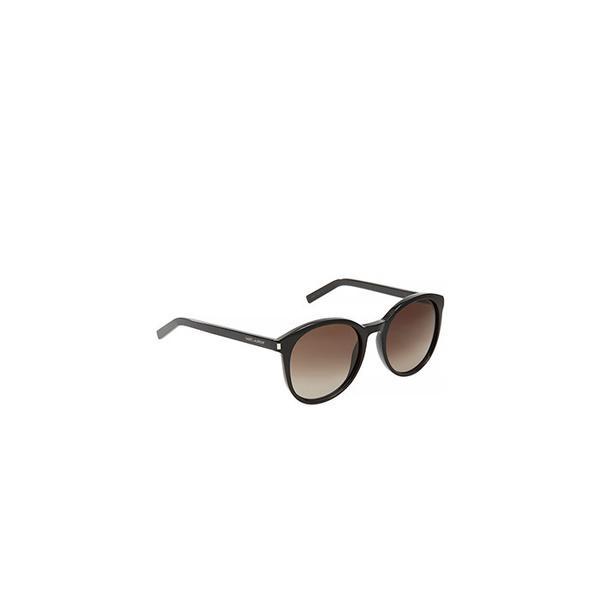 Saint Laurent Classic Oversized Round Frame Sunglasses