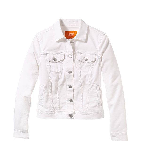 Joe Fresh White Denim Jacket