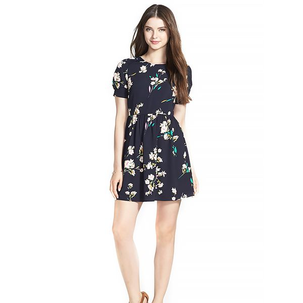 Soprano Short Sleeve Skater Dress