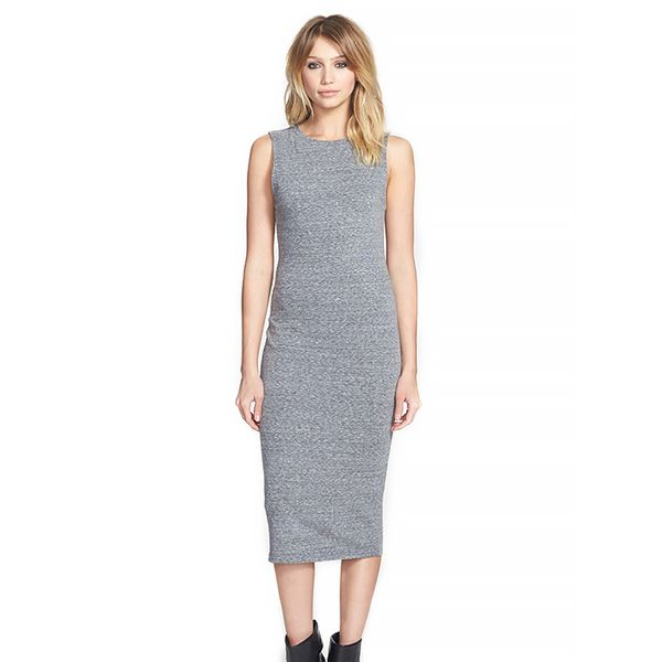 Leith Midi Length Body-Con Dress