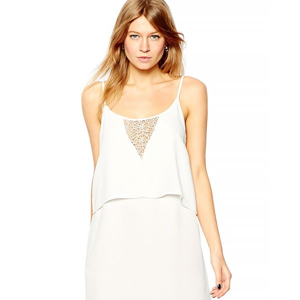 Mango Double Tier Cami Dress