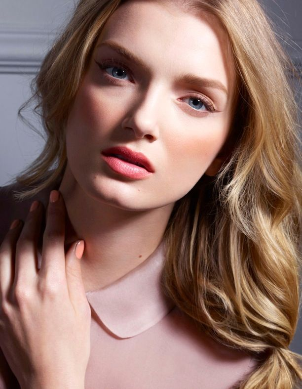6 Pretty Pink Beauty Looks From Vogue Japan