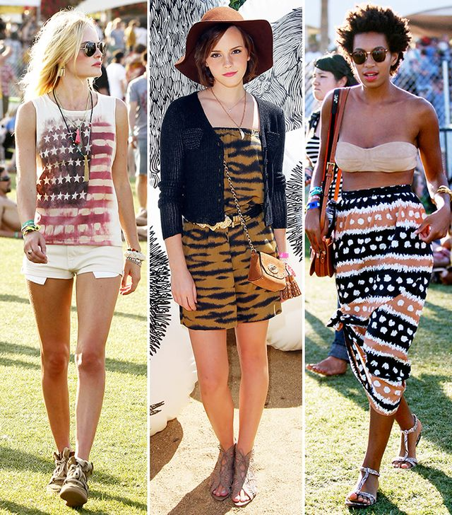 15 Celebrity Looks To Inspire Your Coachella Wardrobe