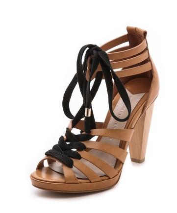 10 Crosby Derek Lam Jasmin Lace-Up Sandals