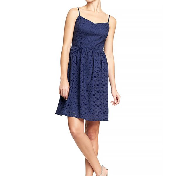 Old Navy Spaghetti Strap Eyelet Dress
