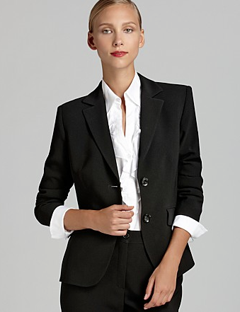 Basler Short Two Button Blazer