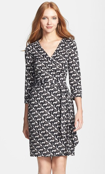 Diane von Furstenberg New Julian 2 Silk Wrap Dress