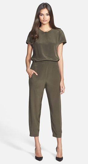 Vince Short Sleeve Jumpsuit