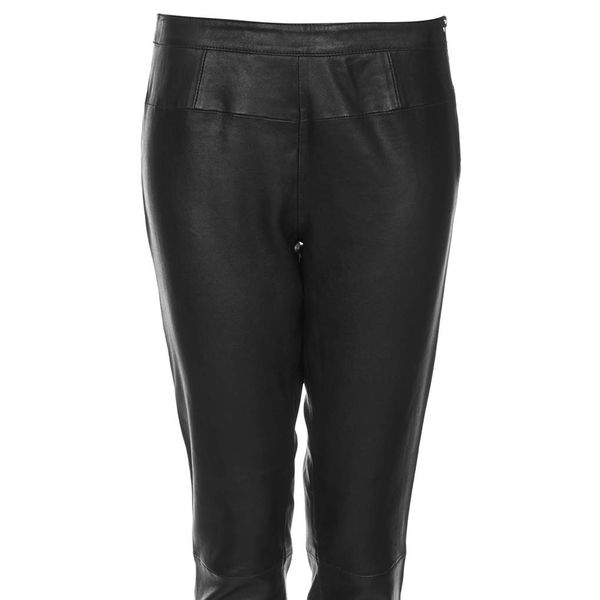 Topshop Unique Leather Trousers