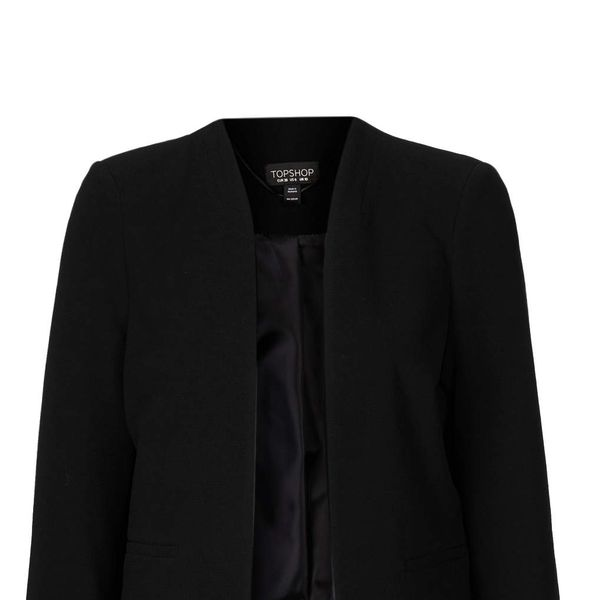 Topshop Crop Pocket Jacket