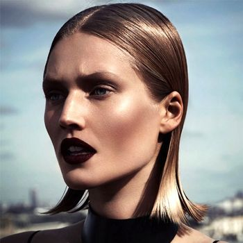 Toni Garrn Gets Her Vamp On For Interview Russia