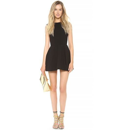 AQ/AQ Dime Mini Dress ($231)in Black A comfortable black dress you can wear all day.