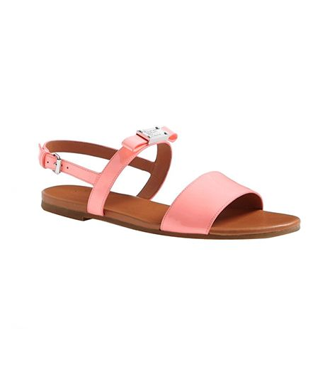 Marc by Marc Jacobs Tuxedo Logo Sandals