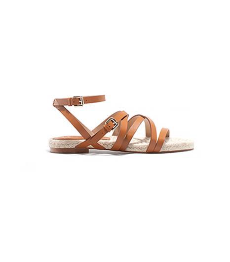 Massimo Dutti Flat Jute Sandals