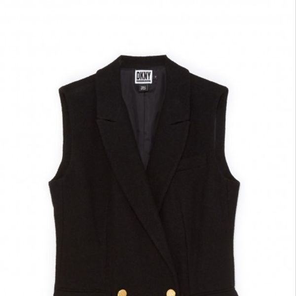 Opening Ceremony x DKNY Sleeveless Blazer