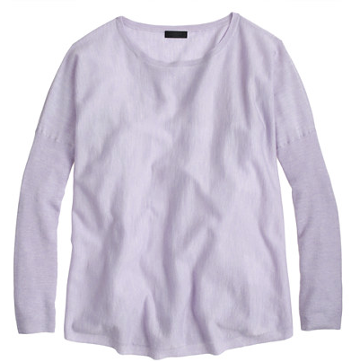 J. Crew Collection Featherweight Cashmere Swing Sweater