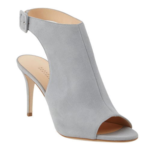 Barneys New York Open-Toe Ankle Strap Booties