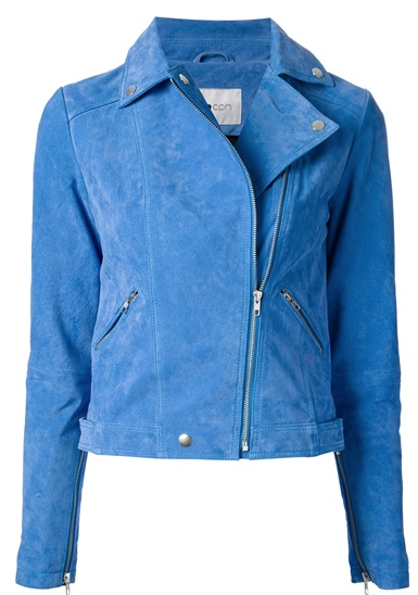 Pop Cph Suede Biker Jacket