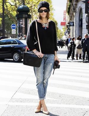 7 Ways To Style Boyfriend Jeans: Get Street Style Inspired