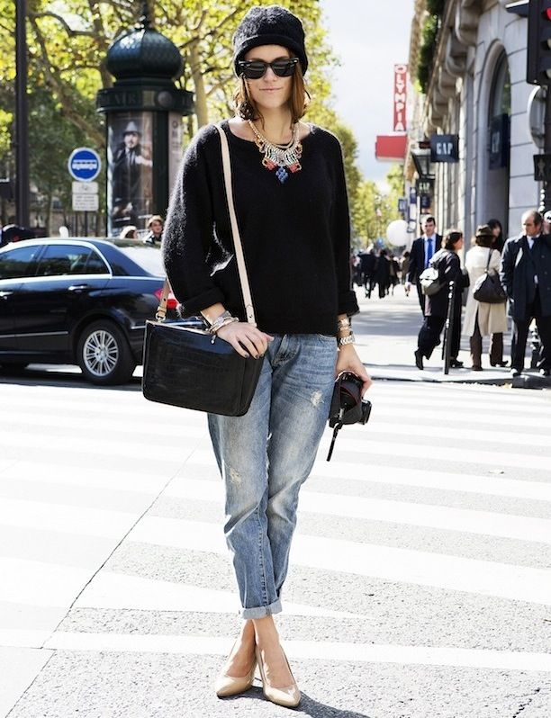 7 Ways To Style Boyfriend Jeans: Get Street Style Inspired