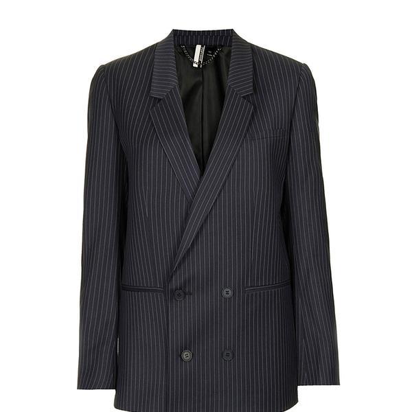 Topshop Modern Tailoring Pinstripe Suit Blazer