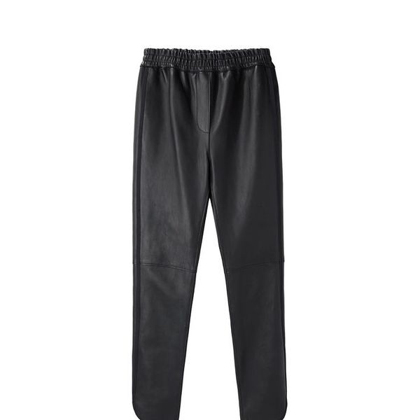 3.1 Phillip Lim Stretch Leather Track Pants