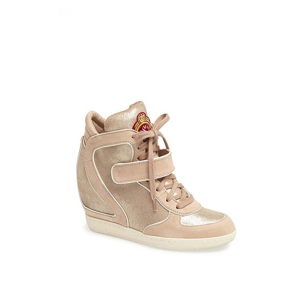 Ash Brendy Glitter Wedge Sneakers