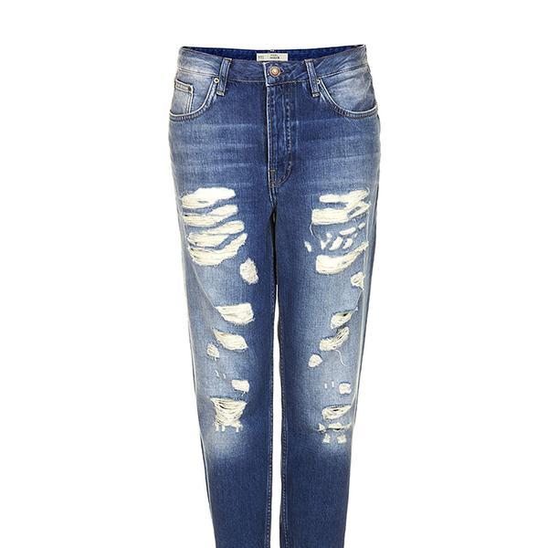Topshop Moto Super Rip Hayden Boyfriend Jeans