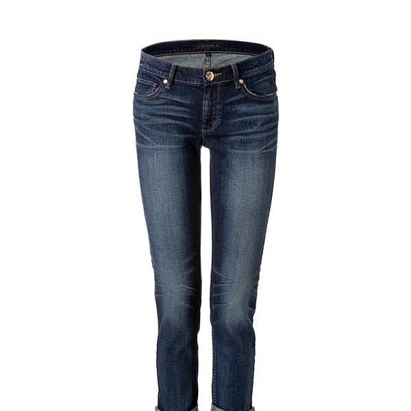 Juicy Couture Rolled Straight Leg Jeans
