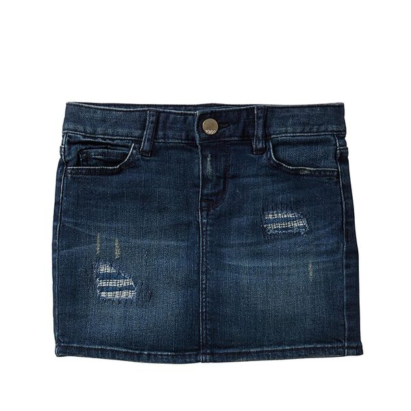 Gap 1969 Rip & Repair Denim Mini Skirt