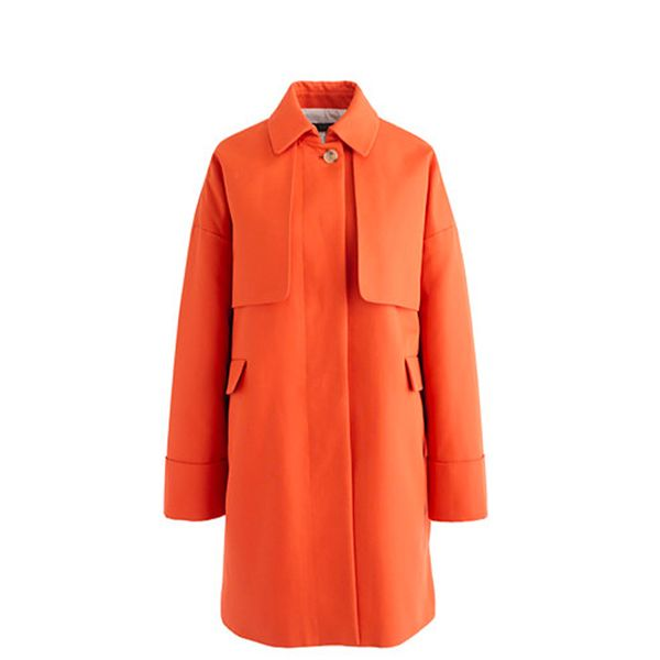 J.Crew Cotton Twill Swing Trench