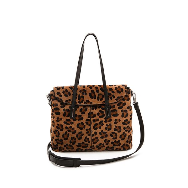 Elizabeth & James Leopard-Print Bag