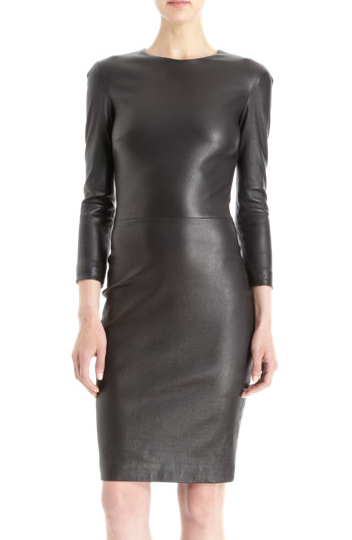 The Row Hentner Lambskin Dress