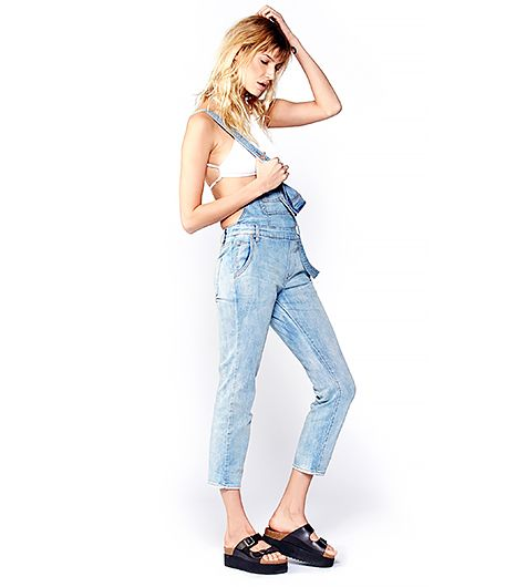 Nothing says laid-back cool like a pair of overalls.