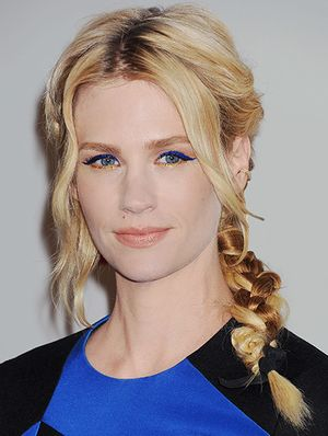 January Jones' New Take on The Cat Eye