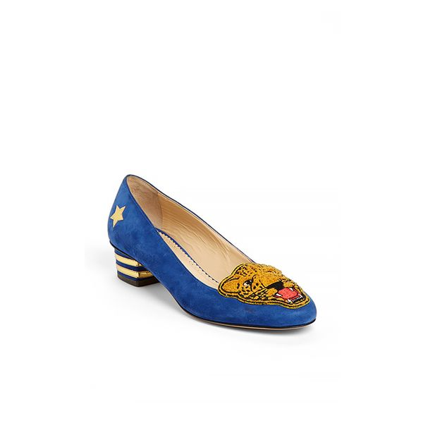 Charlotte Olympia Mascot Heeled Loafers