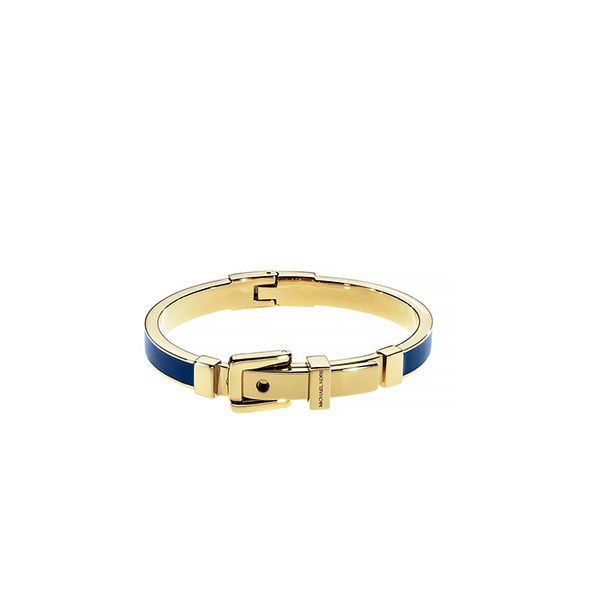 Michael Kors Navy Buckle Bangle
