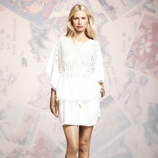 Peter Som for DesigNation Eyelet Poncho Top