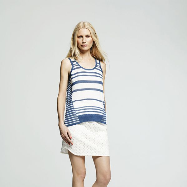 Peter Som for DesigNation Sweater Tank Top