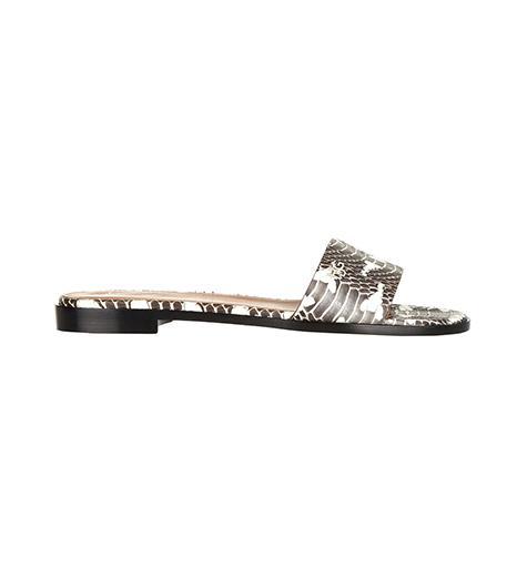 Givenchy Snake Slip-On Sandals