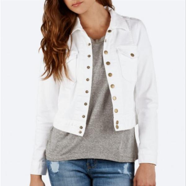 Current/Elliott Snap Jacket